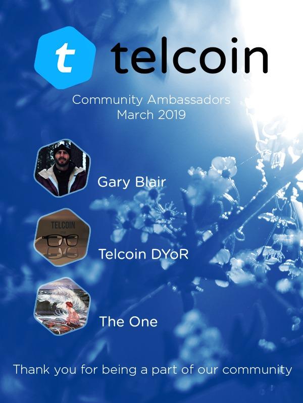 Telcoin COMMUNITY AMBASSADOR PROGRAM