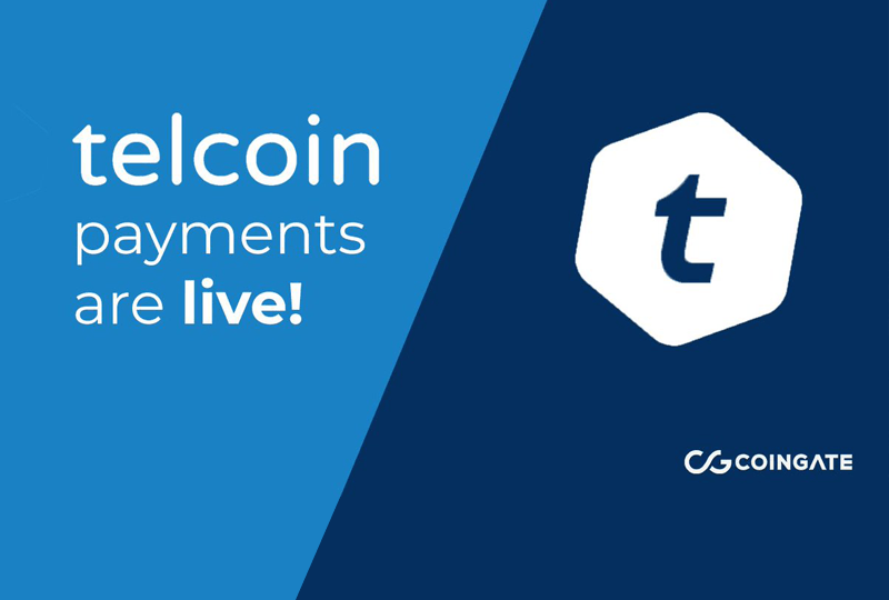 Telcoin is now live and transactable via Coingate