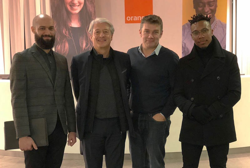 Telcoin meeting Orange in Paris