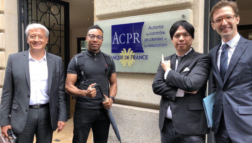 Telcoin with Regulators and Banque De France